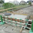 スプリンクラー水槽コンクリート打設