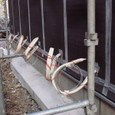 外壁防水シート・階段