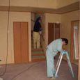 内部塗装・電気天井穴開け