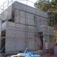 内装クロス貼り・外壁ラスモル4