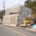 浄化槽施工・外壁ラスモル