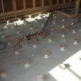 2階床下地工事