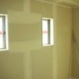 3階から内装工事徐々に