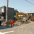 地盤下解体時の基礎下構造確認。