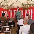 中島東自治公民館地鎮祭(起工式)