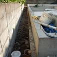 屋外給排水先行配管2日目
