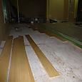 大工さん1階天井下地2階床フローリング仕上げ張り