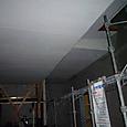 雨の中・・・カーポート天井サイディング