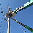 九州電力トランス移設