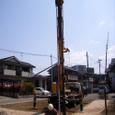 地盤改良土質サンプル採取