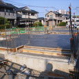 土間コンクリート打設2