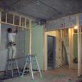 1~2階間仕切り壁設置