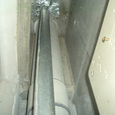 給排水設備チェックと搬入資材チェック4